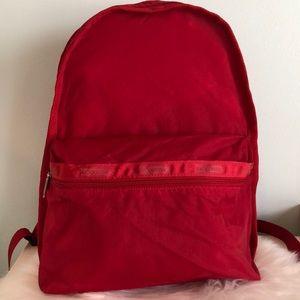 LeSportsac Nylon Backpack Carryall Bag